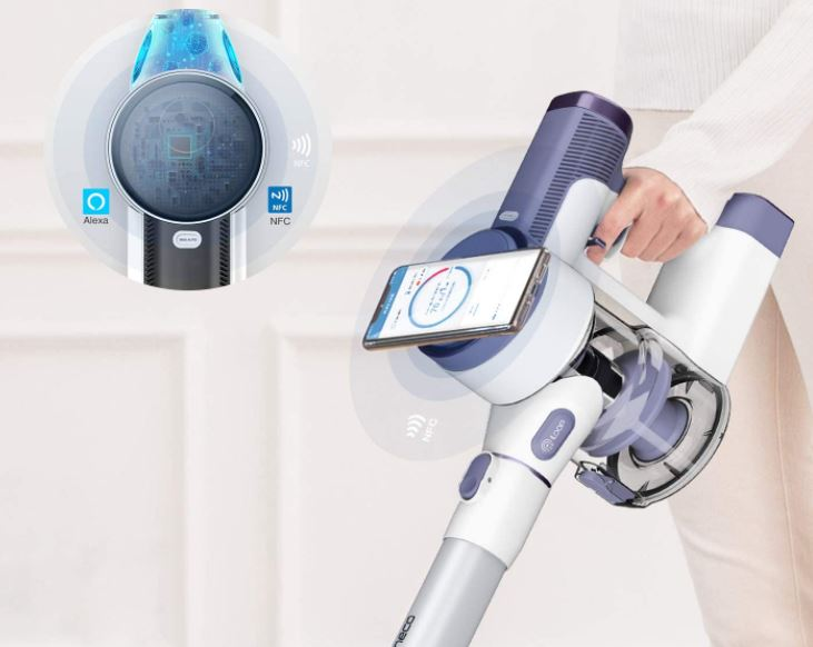 Tineco Pure One S12V cordless vacuum cleaner NFC magnets