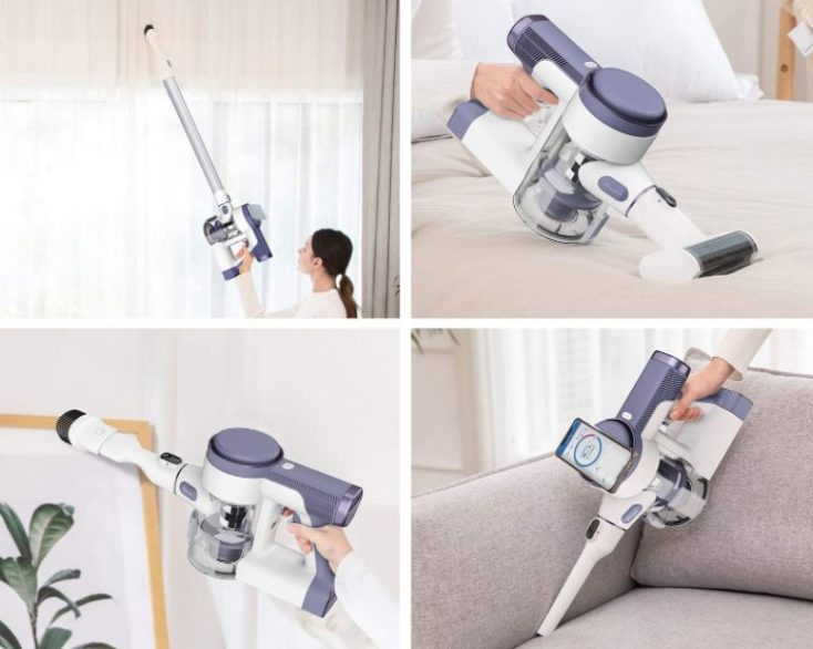 Tineco Pure One S12V cordless vacuum cleaner areas of application