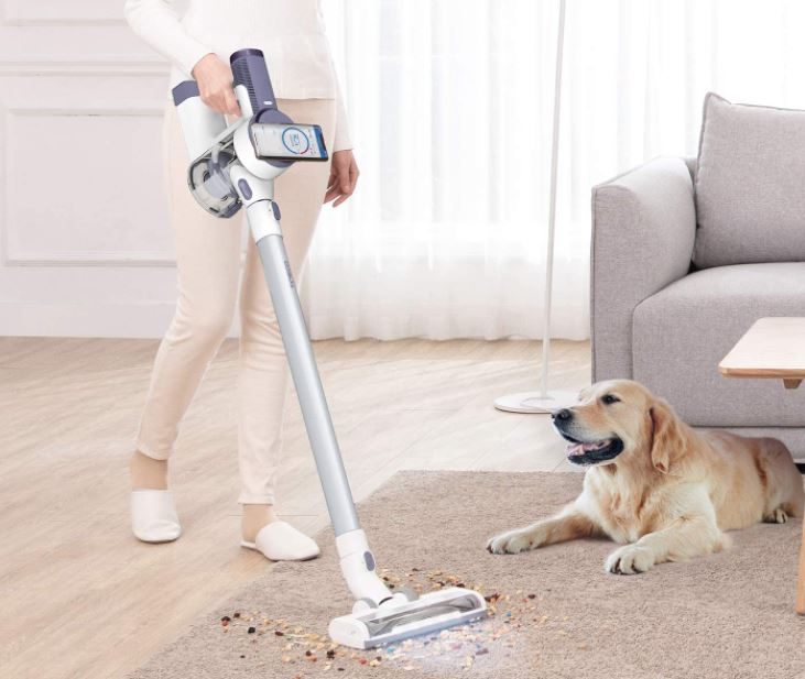 Tineco Pure One S12V cordless vacuum cleaner suction power
