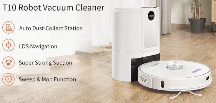 Ultenic T10 Robot Vacuum Cleaner