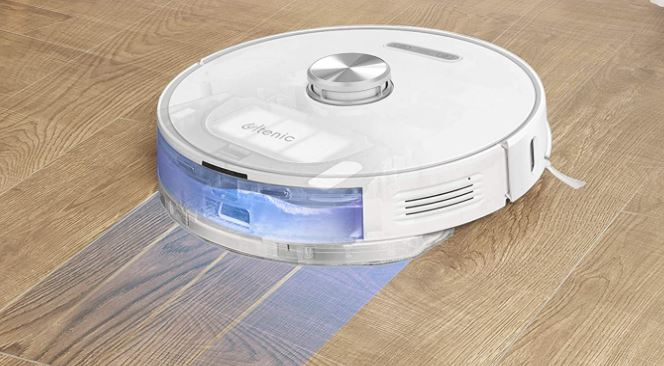 Ultenic T10 robot vacuum wiper function