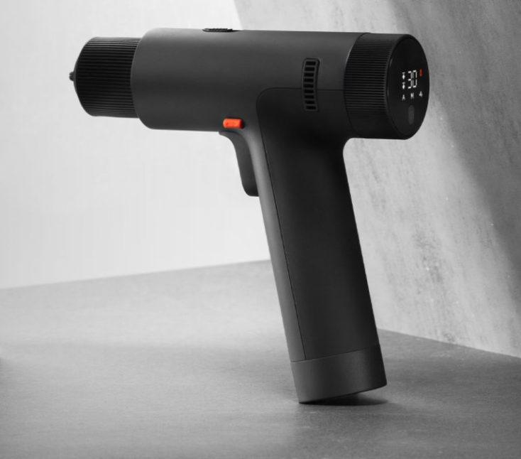 Xiaomi Mijia cordless drill in profile