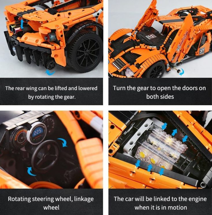 Yeshin Ford GT LED Functions