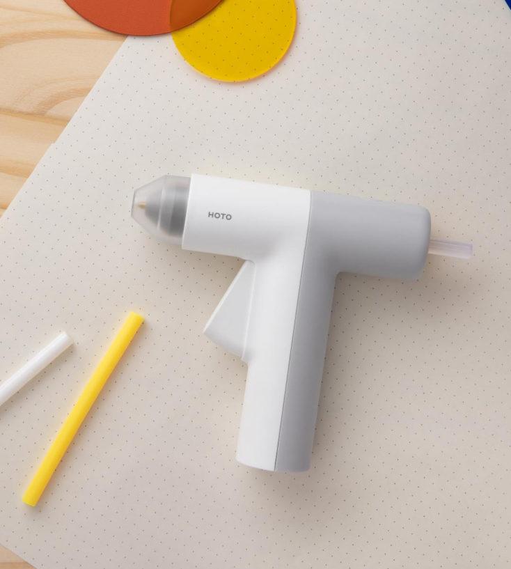 HOTO battery hot glue gun
