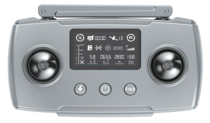 Hubsan Zino Mini Pro remote control