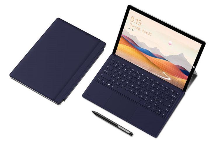 Teclast X6 Plus tablet folded up