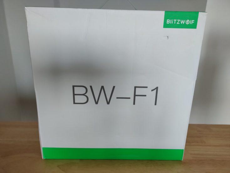 Blitzwolf BW F1 fan carton