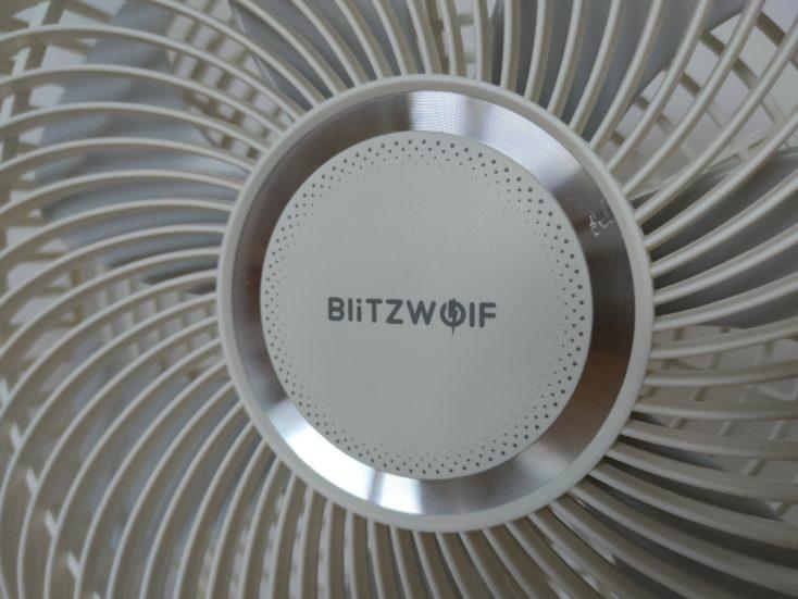 Blitzwolf BW F1 fan front