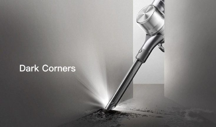 Dreame T30 cordless vacuum cleaner LED attachment