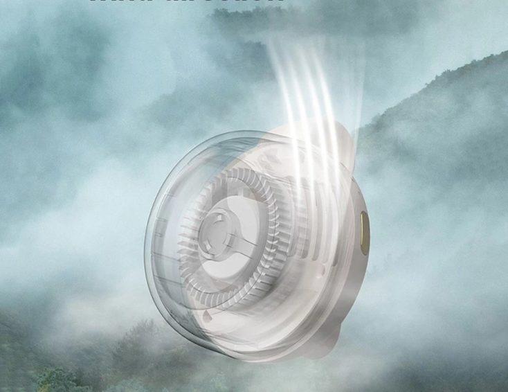 Mini Clip Fan Wind Adjustment