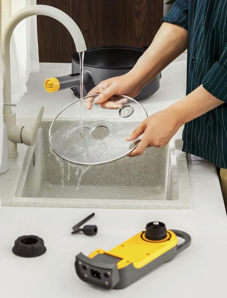 Xiaomi Solista Solo pan cleaning