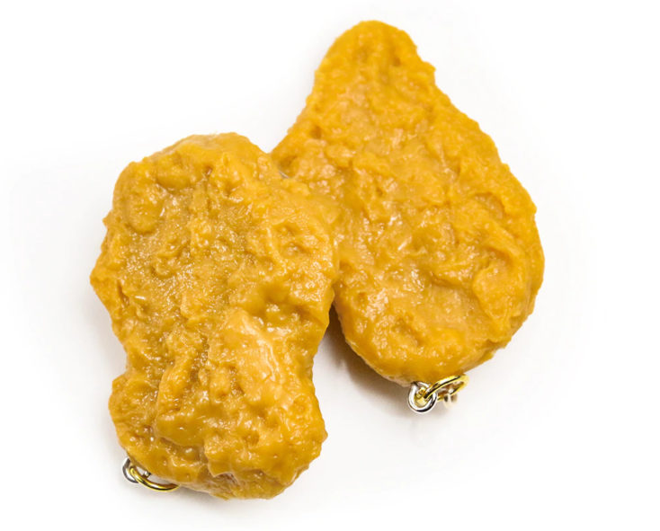 Chicken nugget pendant