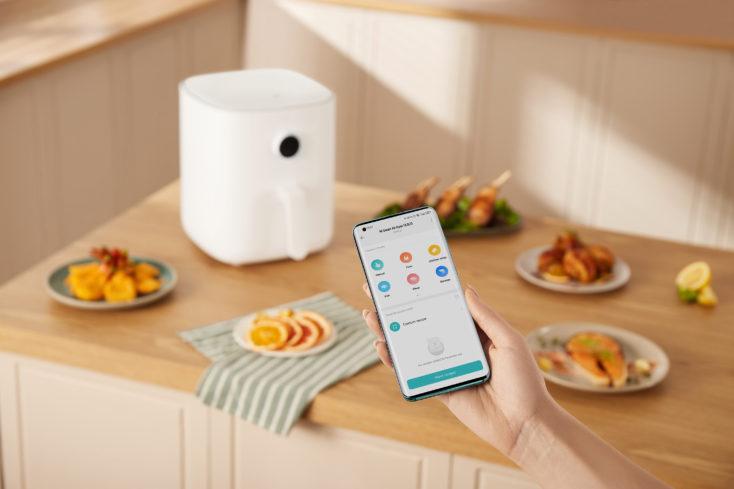 Mi Smart Air Fryer 3.5L Hot Air Fryer App