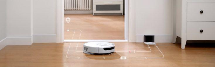 Roborock E5 Robot Vacuum Wayfinding