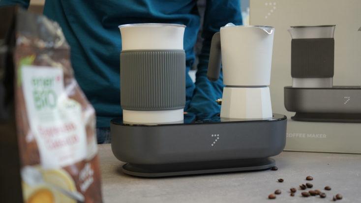 SEVENME coffee machine design