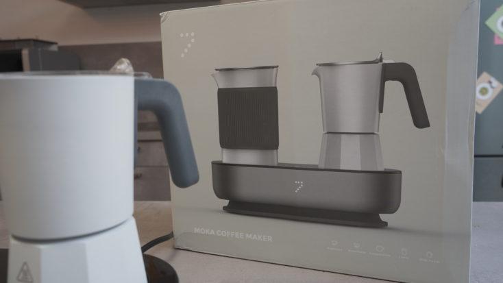 SEVENME coffee maker packaging