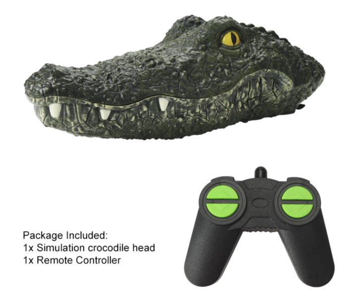 Scope of delivery JJRC Crocodile boat