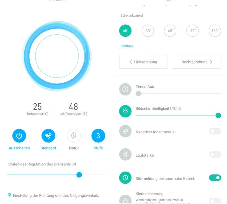 Smartmi Standing Fan 3 App Control