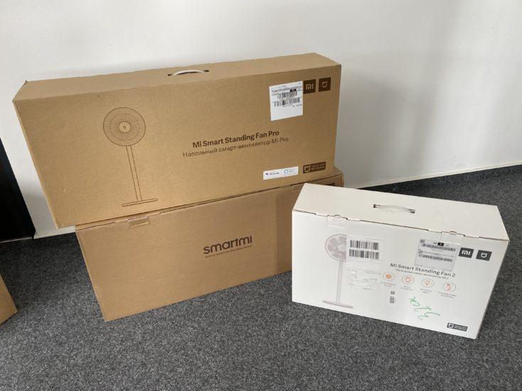 Smartmi Standing Fan 3 Packaging