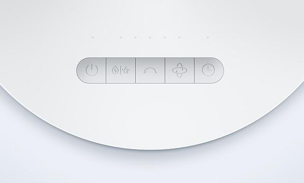 Xiaomi Mi Air Circulator Fan control panel