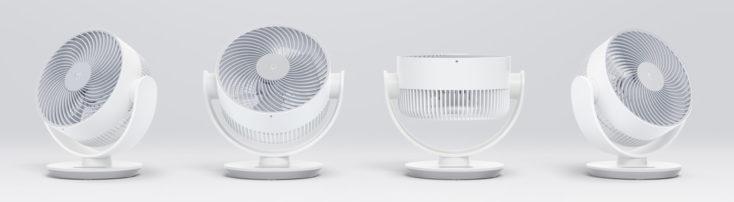 Xiaomi Mi Air Circulator Fan table fan rotation