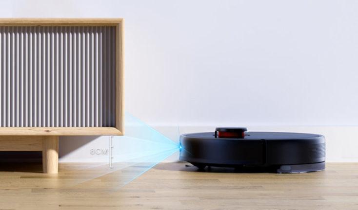 Xiaomi Mijia vacuum robot with extraction station ToF sensor