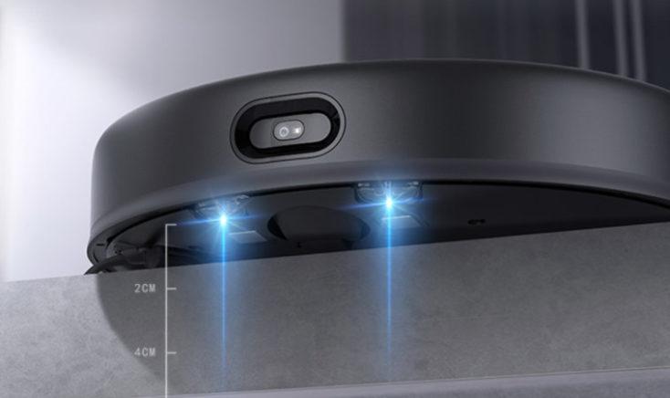 Xiaomi Mijia vacuum robot with extraction station slope sensor