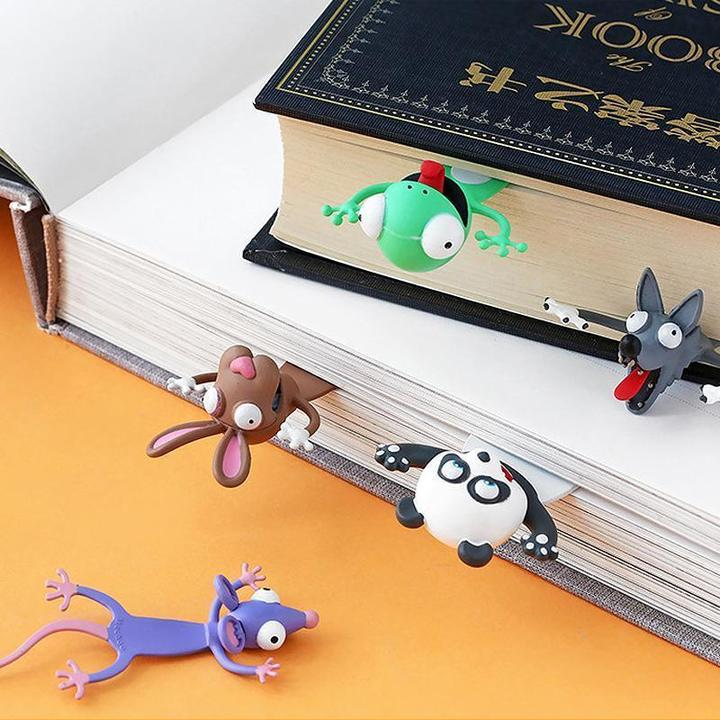 Animal Bookmarks in the Book
