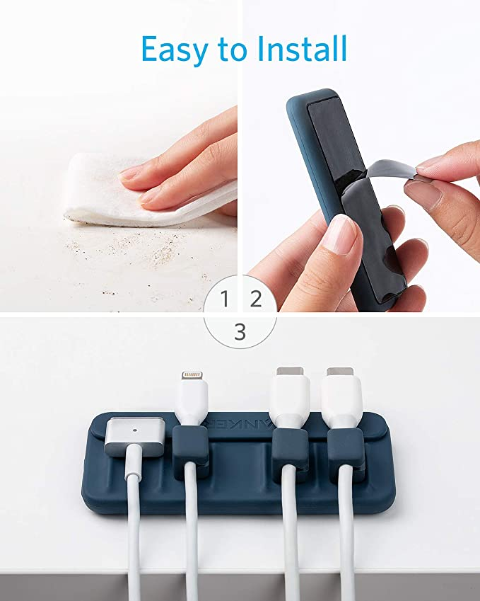 Anker magnetic cable holder attachment