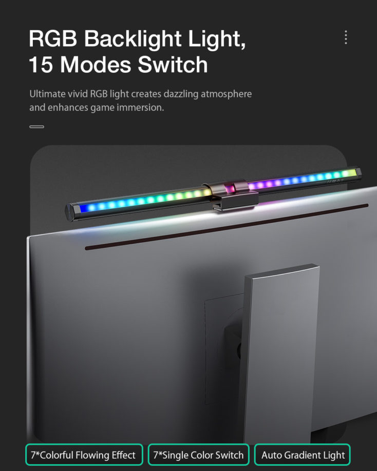 BlitzWolf Screenbar RGB Backlight