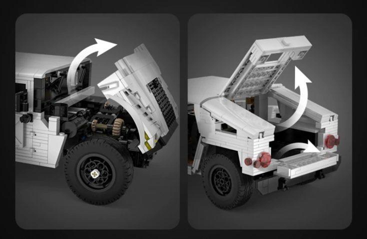 CaDa Humvee Storage