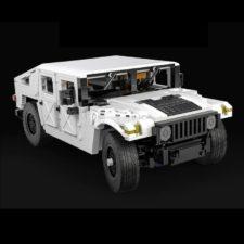 CaDA C61027W Humvee front