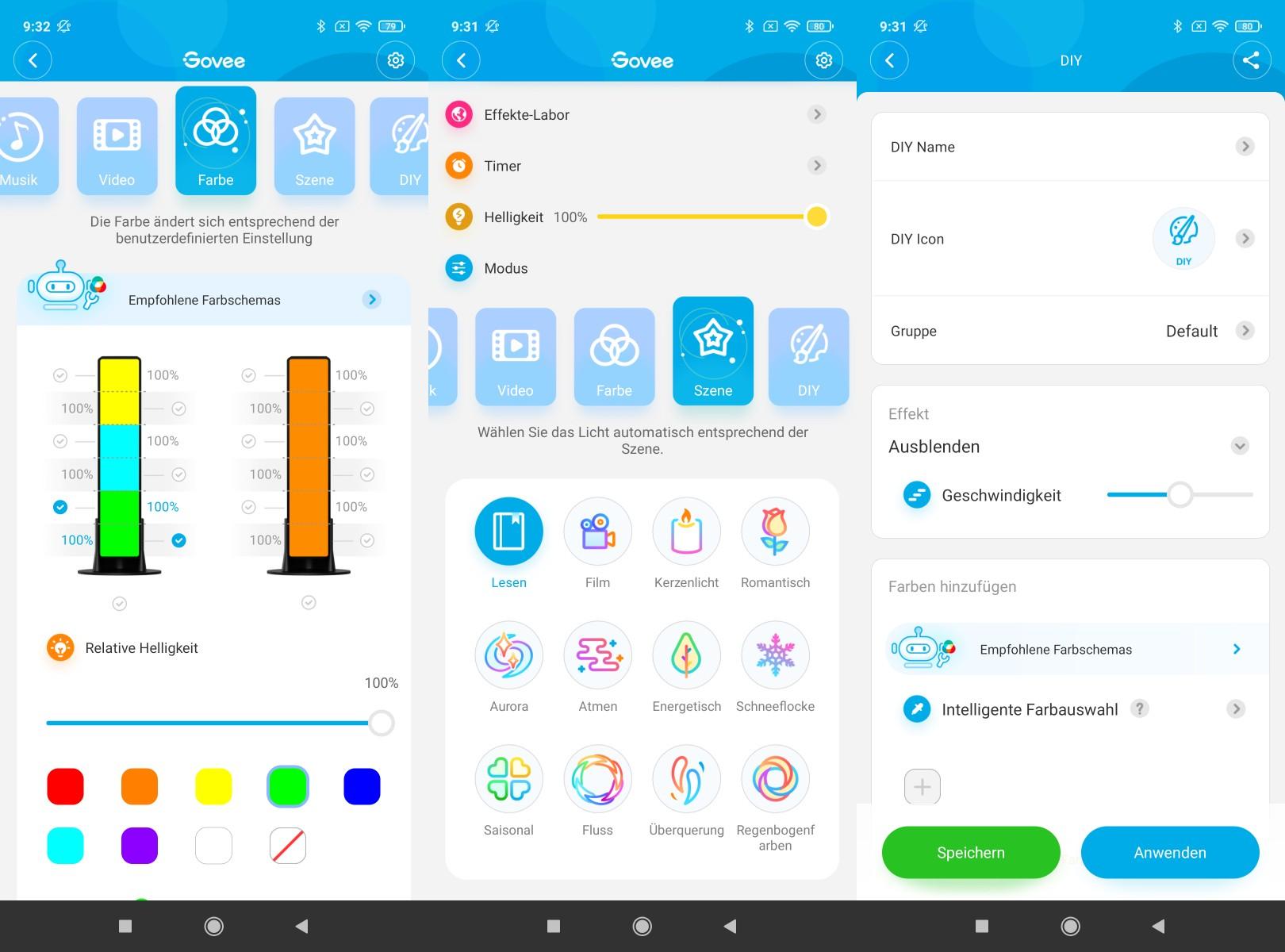 Govee Home App Modes