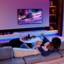 Govee RGB LED Strip Living room