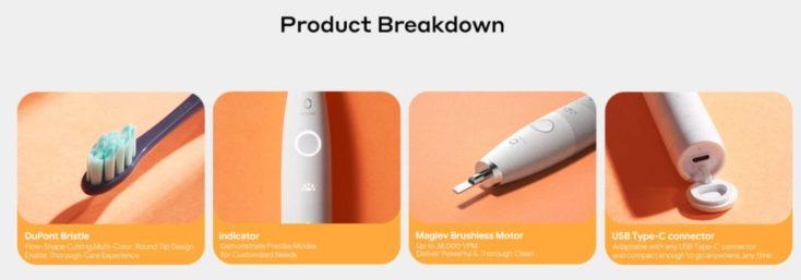 Oclean Flow product details