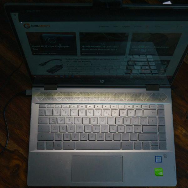 Quntis laptop lamp light