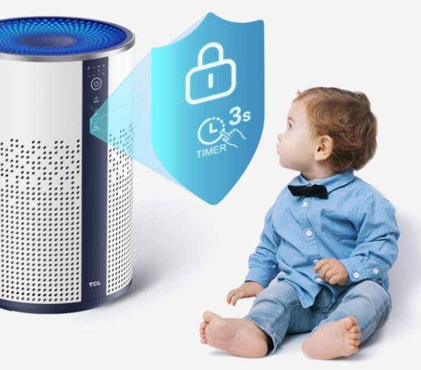 TCL Breeva A1 Air Purifier Child Lock