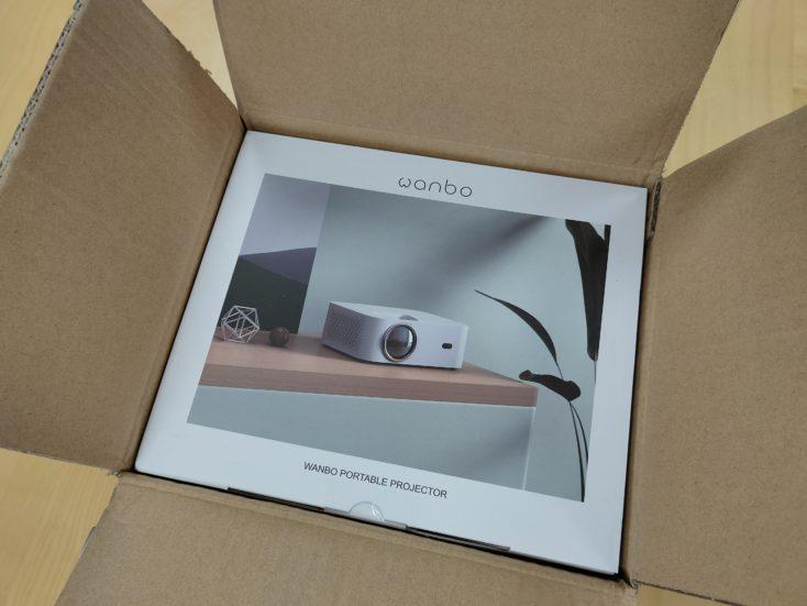 Wanbo X1 Projector Packaging
