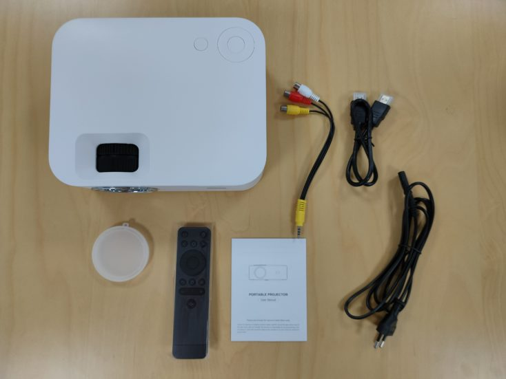 Wanbo X1 Projector Scope of Delivery