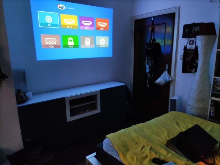 BlitzWolf BW-VP10 Full HD Beamer Removal