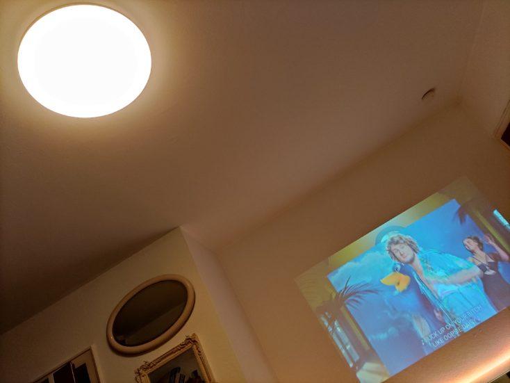 Blitzwolf BW-VP10 Full HD Beamer ceiling light