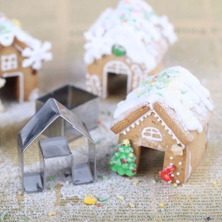 Cookie cutter Mini gingerbread house