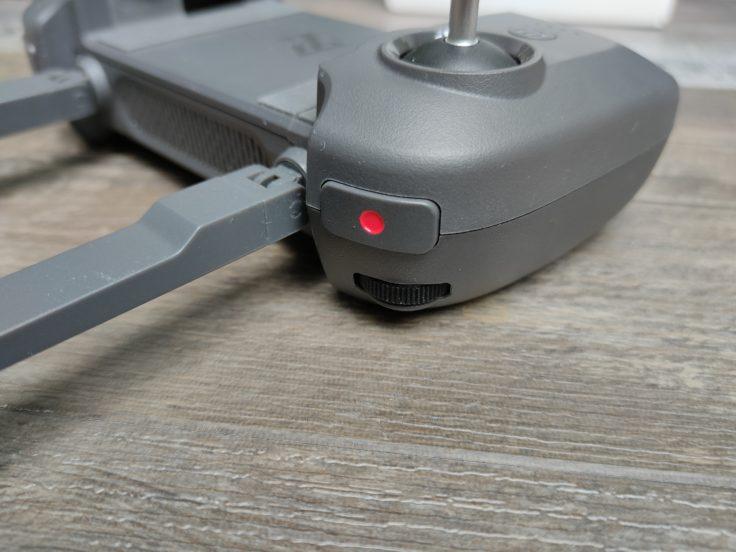 Fimi X8 Mini remote controle shoulder button