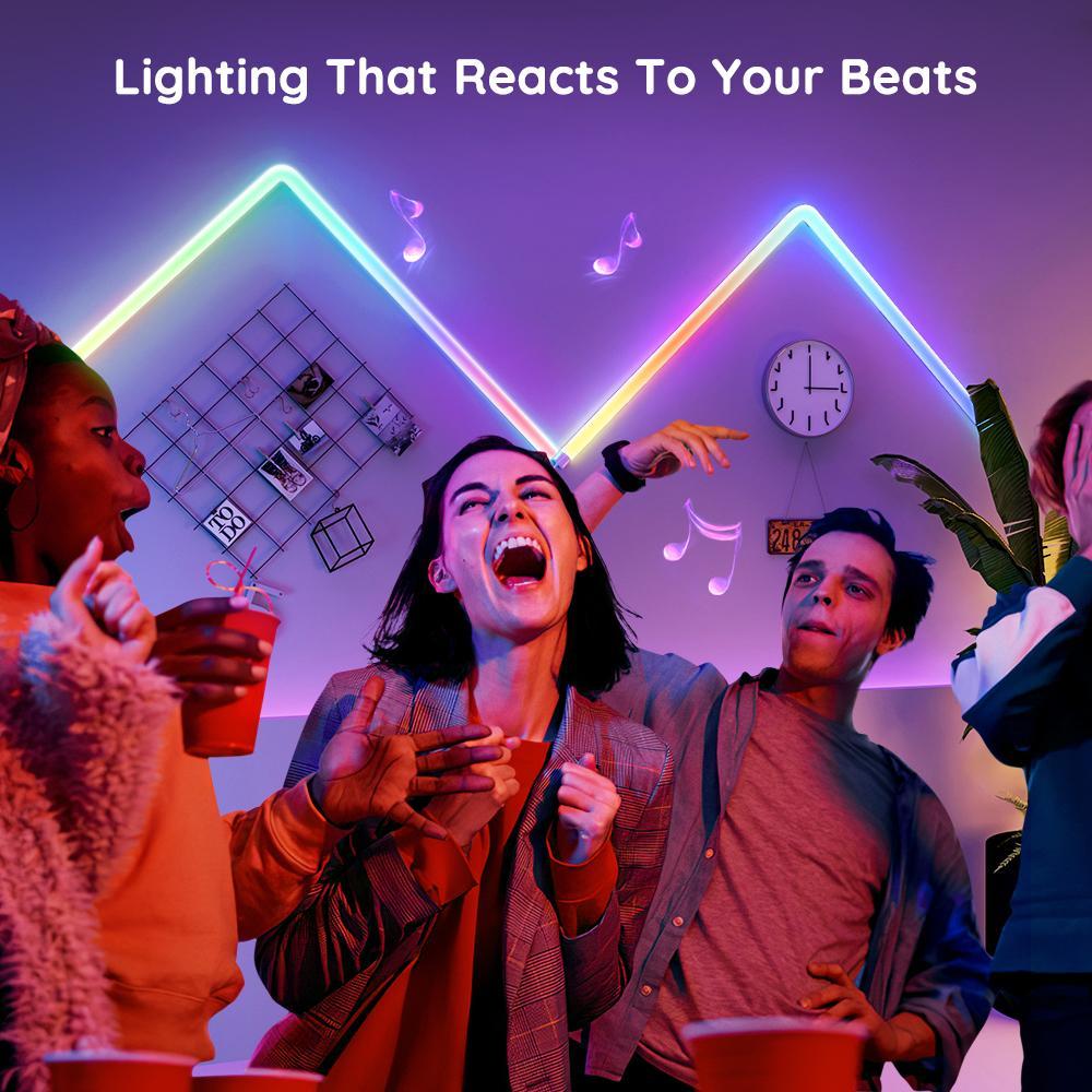 Govee Glide Wall Light Music Mode