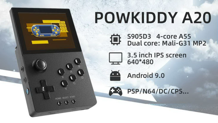 Powkiddy A20 Console