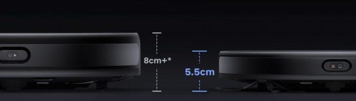 Xiaomi Mijia Ultra Thin Vacuum Robot Size