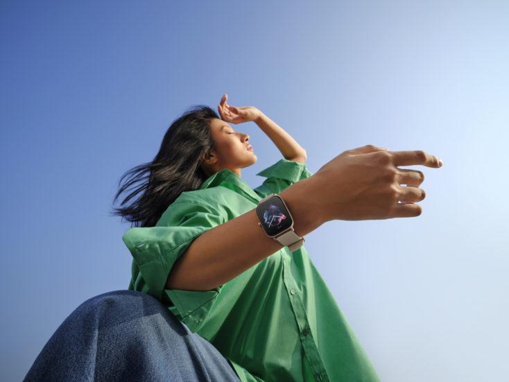 Amazfit GTS 3 Smartwatch on Arm