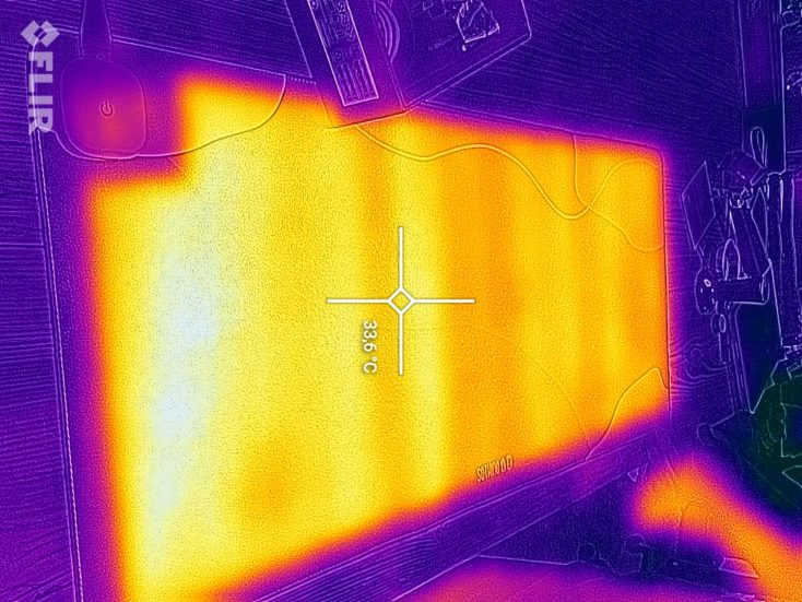 SOTHING Mouse pad FLIR low temperature